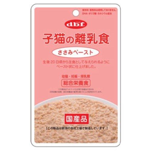 【デビフペット】子猫の離乳食 ささみペースト 80g×12コ