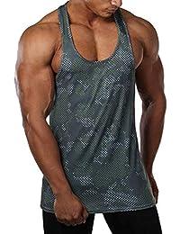 メンズ ストリンガー タンクトップ インナー スポツウェア ワークアウト ジム フィットネス ノースリーブTシャツ