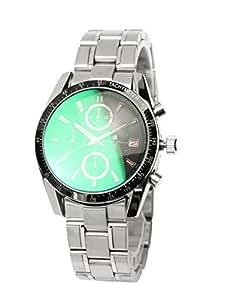 [サルバトーレマーラ] 腕時計 ウォッチ クロノグラフ 限定モデル カラーガラス イタリアブランド アナログ表示 10気圧防水 メンズ 【雑誌掲載モデル】