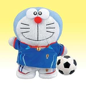ドラえもんぬいぐるみ サッカー日本代表バージョン