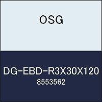 OSG エンドミル DG-EBD-R3X30X120 商品番号 8553562