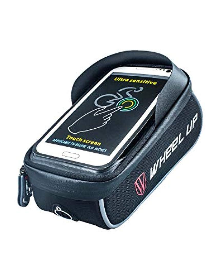 暫定の公爵シリアル自転車電話マウントバッグ防水6.0 ''タッチスクリーン自転車ハンドルバッグマウンテンバイク自転車フロントバッグタッチスクリーン