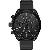 Diesel Men's Quartz Watch chronograph Display and Silicone Strap, DZ4507