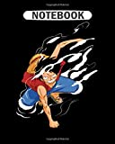 Notebook: one piece fighters  College Ruled - 50 sheets, 100 pages - 8 x 10 inches