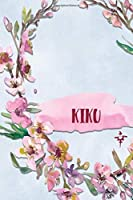 KIKU: Personalized Journal with Her Japanese Name (Janaru/Nikki)