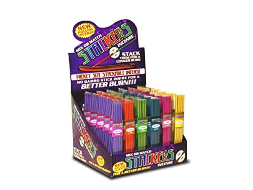 アンペア事実アウトドアbulk buys Stackers Mix Or Match 多様なお香カウンタートップディスプレイ 36個セット