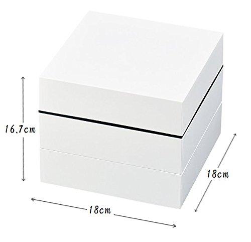 正和 重箱 オードブル重三段 ホワイト