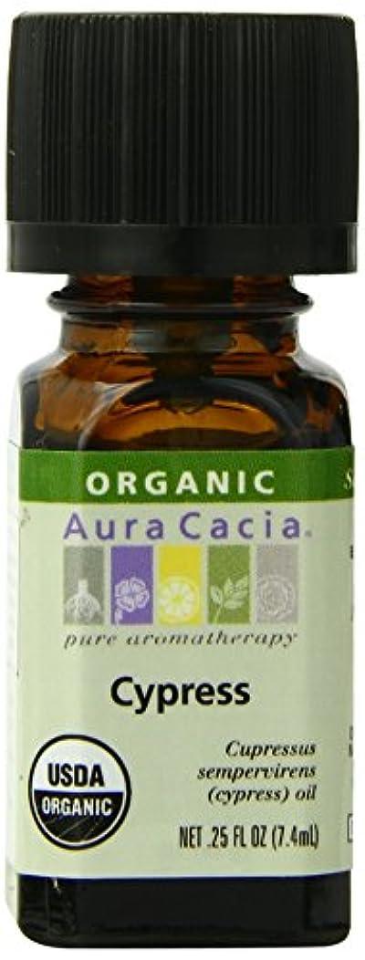 突然の郵便スカウトAura Cacia Essential Oil Cypress, Cypress 7.5 ml (並行輸入品)