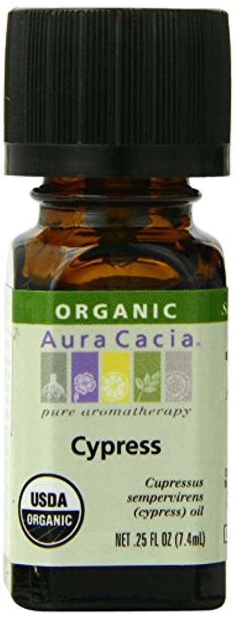 必要性ペルメル洗剤Aura Cacia Essential Oil Cypress, Cypress 7.5 ml (並行輸入品)
