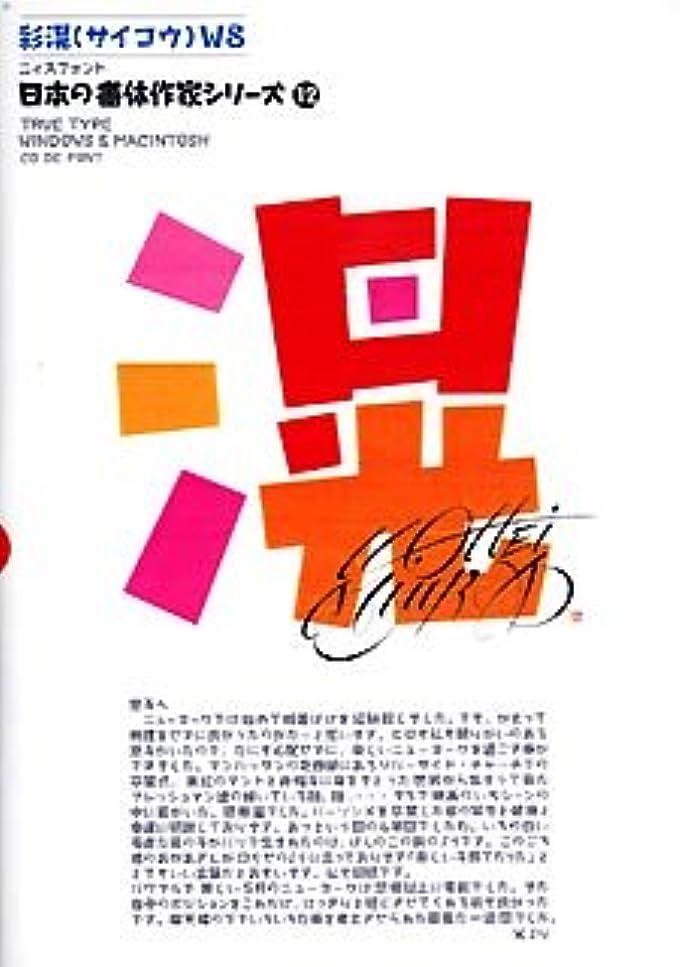 ビルダー予感謝る日本の書体作家シリーズ (12) 「JTC彩滉W8」