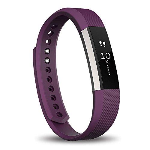 【日本正規代理店品】Fitbit フィットネスリストバンド Alta Large Plum FB406PML-JPN FB406PML-JPN