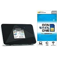 NETGEAR WiFi LTE モバイルルーター SIM フリー AirCard AC785-100JPS + OCN モバイル ONE データ通信専用SIMカード セット