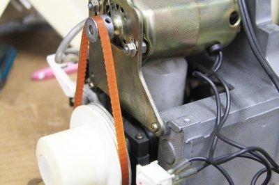 ジューキ、ベビーロック、JUKI 3本~4本ロックミシン用モーターベルト衣縫人・糸取物語用