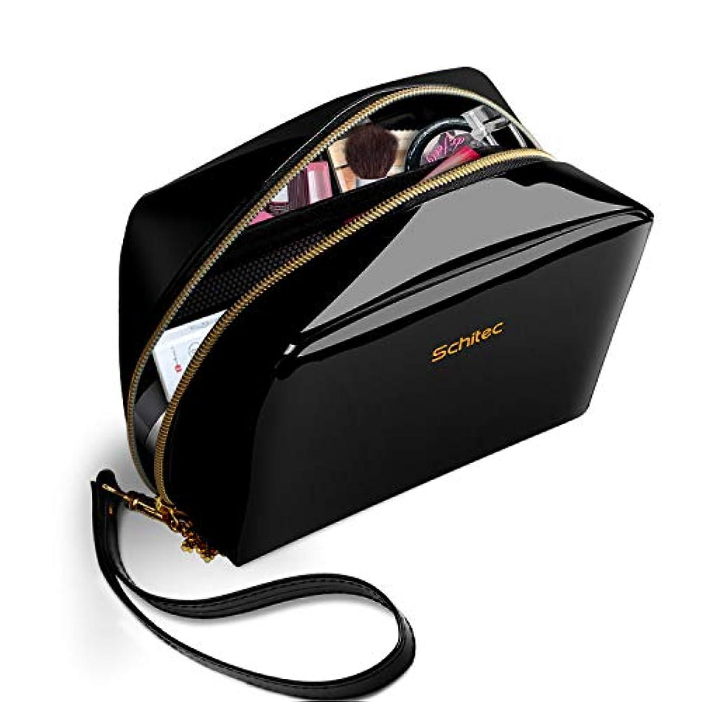 ロータリー推測するあいまい化粧ポーチ メイクポーチ ミニ 財布 機能的 大容量 化粧品収納 小物入れ 普段使い 出張 旅行 メイク ブラシ バッグ 化粧バッグ