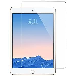 iPad Mini フィルム ガラス ESR iPad Mini3 フィルム ガラス iPad Mini2 フィルム ガラス 液晶保護強化ガラスフィルム 硬度9H 0.3mm 気泡防止 高透明度 iPad Mini3/2/1保護フィルム