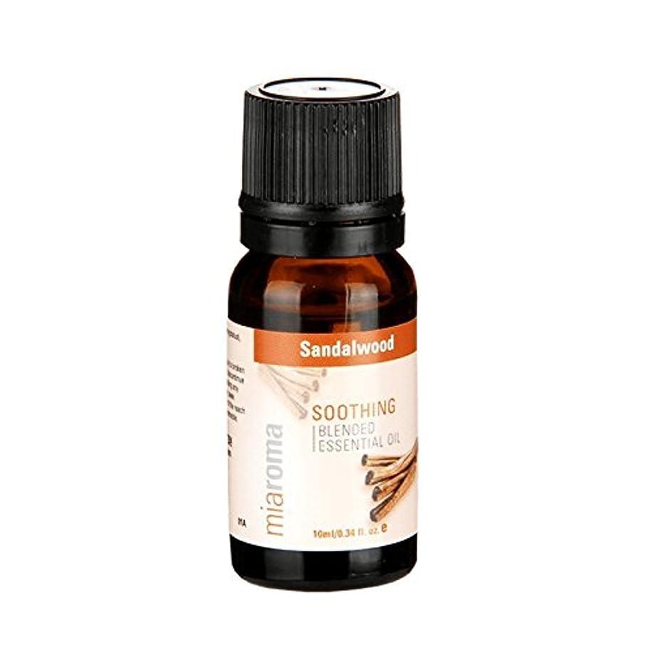 ゴネリルほうき報復するMiaromaは、精油サンダルウッドの10ミリリットルをブレンド - Miaroma Blended Essential Oil Sandalwood 10ml (Miaroma) [並行輸入品]