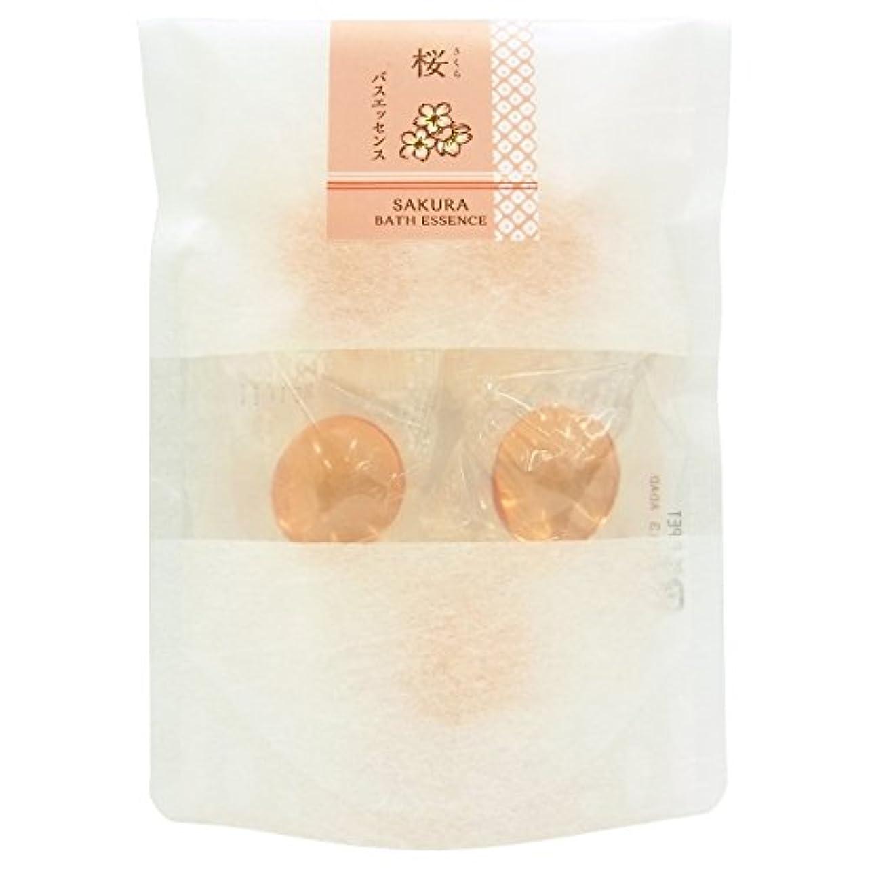 視力印象的休日和の湯 バスエッセンス 桜 (8g × 5個)