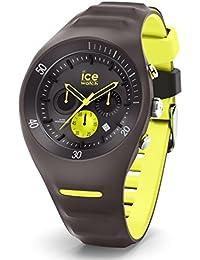 【国内正規品】アイスウォッチ ICE WATCH 腕時計 ピエール・ルクレ クロノグラフ アンスラサイト/グレー x イエロー メンズ/ラージ 014946