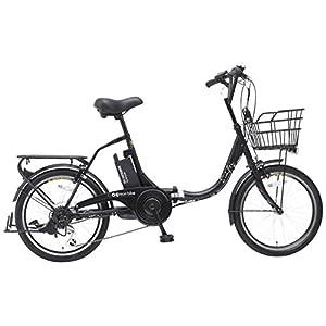 EISAN(エイサン) 折りたたみ電動アシスト自転車 SWIFTI20-8.4Ah ブラック