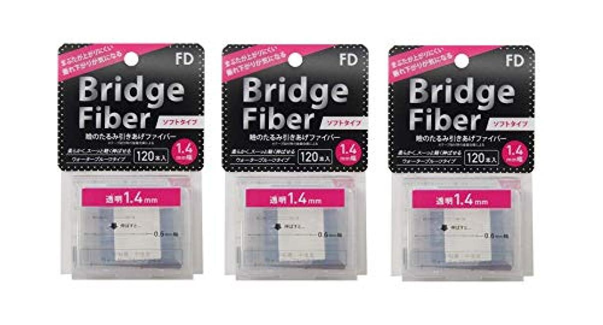 講義鎖することになっているFD ブリッジソフトファイバー 眼瞼下垂防止テープ ソフトタイプ 透明1.4mm幅 120本入り×3個セット