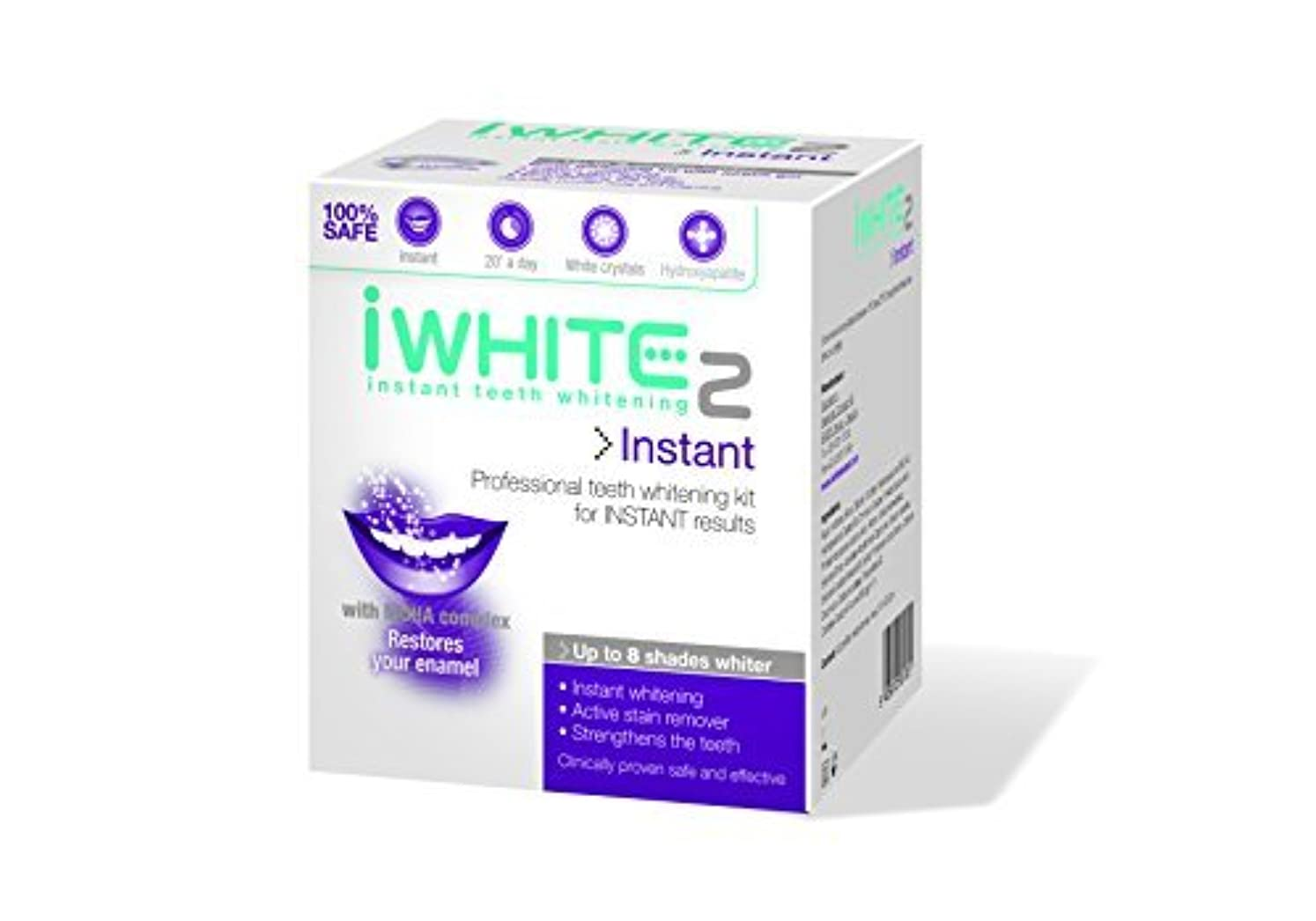 みすぼらしいしなやか水iWhite Instant Two Professional Teeth Whitening Kit - 10 Trays by iWhite [並行輸入品]