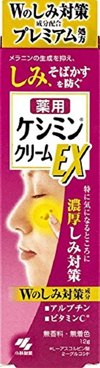 収入学ぶ小人ケシミンクリームEX 濃厚シミ対策 塗るビタミンC アルブチン 12g 【医薬部外品】