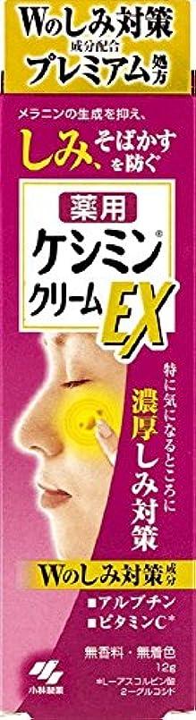 複雑苗概要ケシミンクリームEX 濃厚シミ対策 塗るビタミンC アルブチン 12g 【医薬部外品】