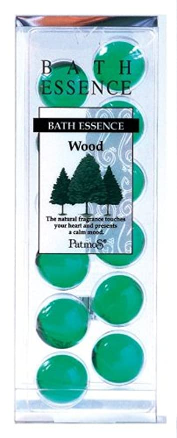 有効な伝える自然公園パトモス バスエッセンス 12P ウッド