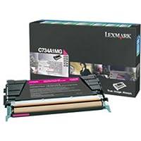 Lexmark c73X、x73X Rã ¼ ckgabe-tonerkassetteマゼンタ( CA。6.000Seiten ) â ( 13)