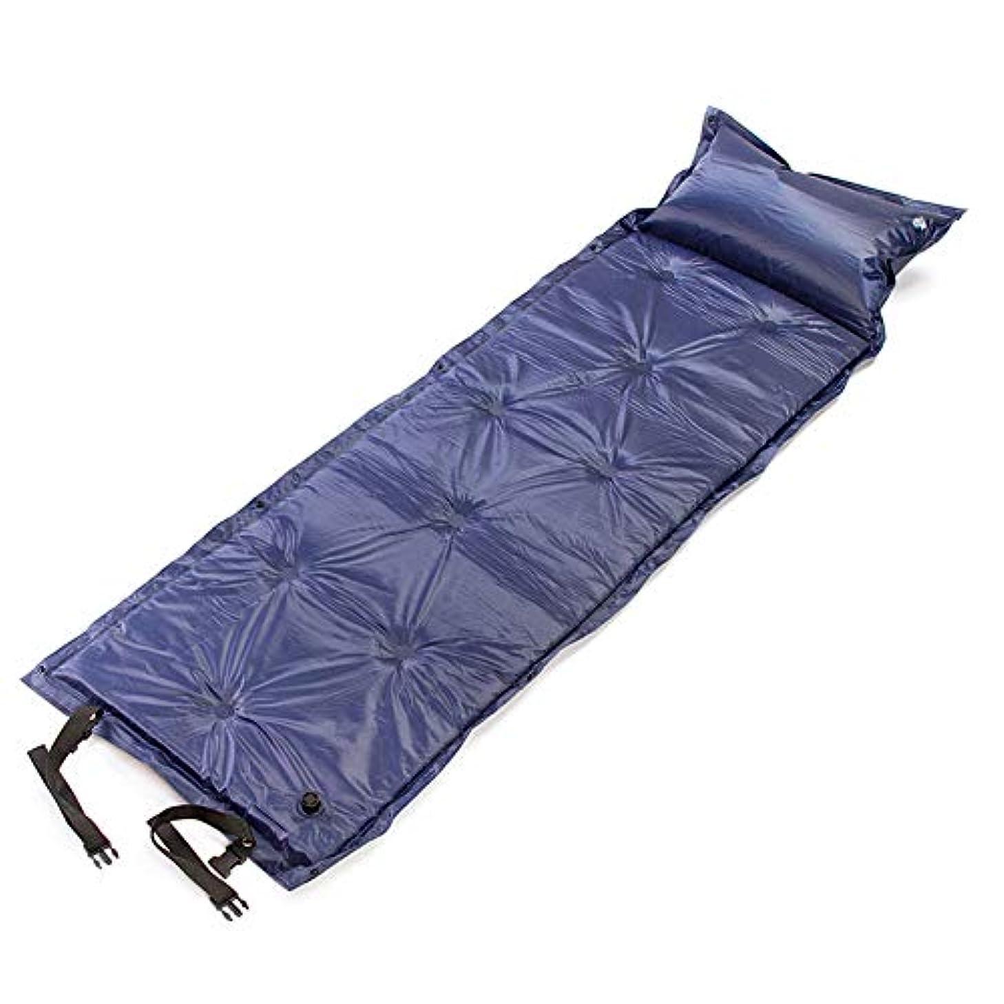 ひばり温かいスポーツをするキャンプマット、キャンプインフレータブルマットレス超軽量コンパクトキャンプスリーピングマットバックパックハイキングテント寝袋