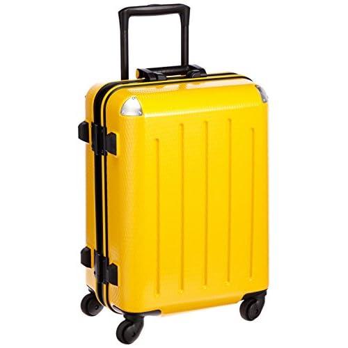 [プラスワン] PLUS ONE 軽量スーツケース RE:STYLE 36L 3.5kg 1泊~3泊対応 機内持込み可能サイズTOTAL115cm 4輪 ヒノモト静音キャスター 380-47 mean MUSTARD (ミーンマスタード)