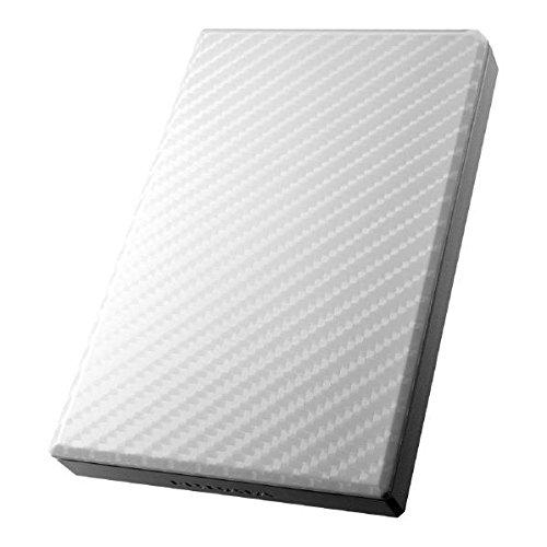 IOデータ HDPT-UT1W ホワイト  ポータブルハードディスク 1TB USB3.0/2.0 Win/Mac HDPT-UTシリーズ 高速カクうす