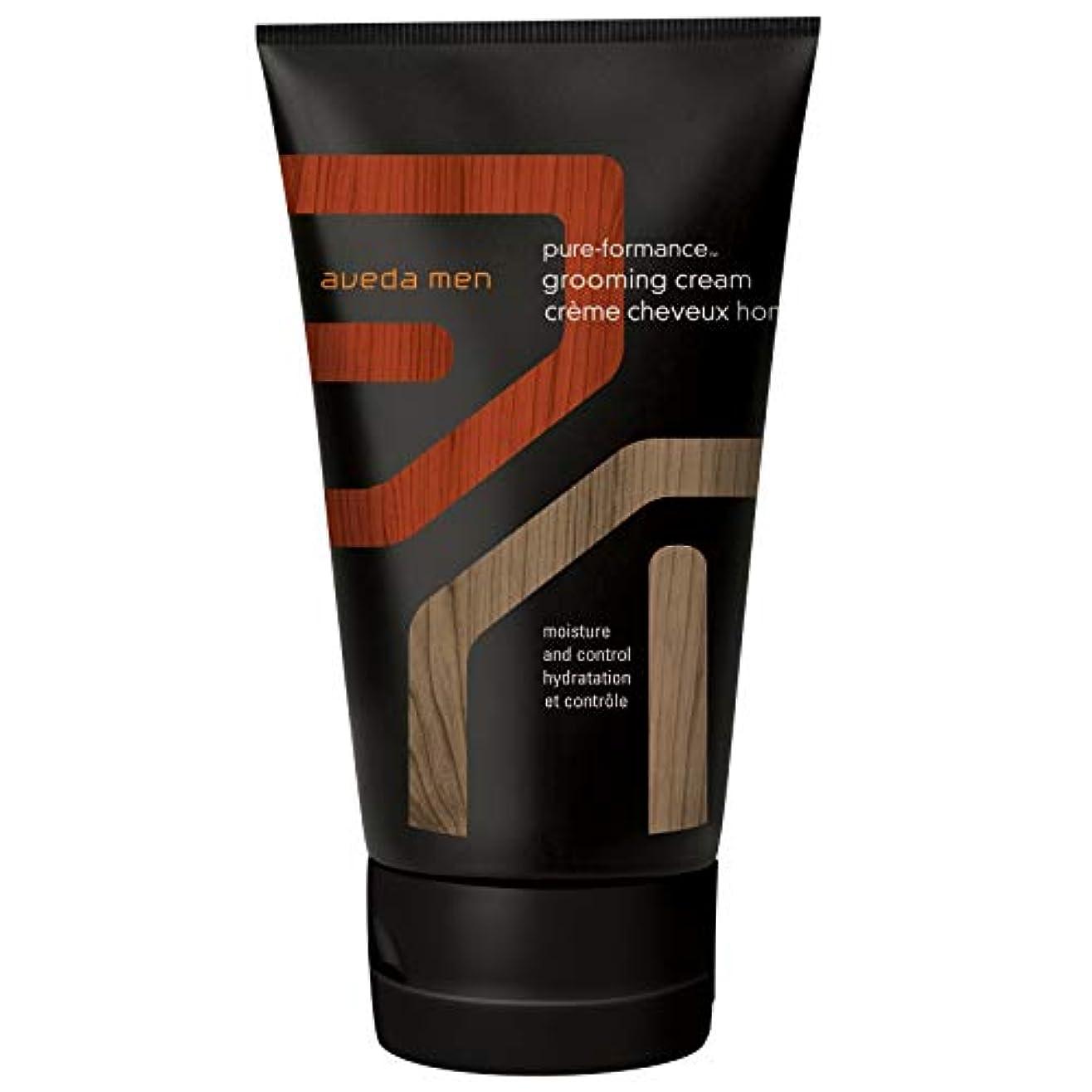 路面電車苦痛あなたのもの[AVEDA] アヴェダ男性の純粋な-Formanceグルーミングクリーム125ミリリットル - Aveda Men Pure-Formance Grooming Cream 125ml [並行輸入品]