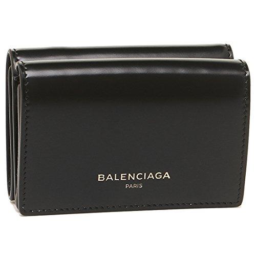 [バレンシアガ] 折財布 レディース BALENCIAGA 490621 DRY0N 1000 ブラック [並行輸入品]