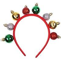 Seawang カチューシャ クリスマス ヘアーバンド 髪留め 髪飾り ジュエリー オシャレ かわいい ヘッドアクセサリー
