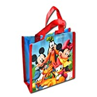 12-Pack Disney Mickey Mouse Clubhouse Non-Woven Reusable Mini Party Tote Bags by UPD Inc./Label Daddy [並行輸入品]
