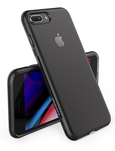 【iPhone 8 Plus / 7 Plus 用】Anker KARAPAX Touch マット仕上げ保護ケース ワイヤレス充電対応 (ブラック)