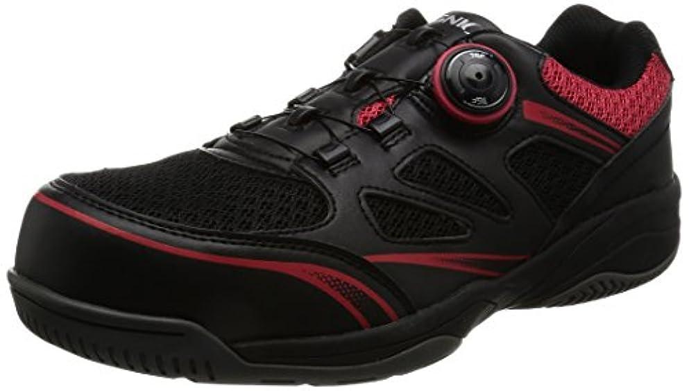 ラッチ高原露出度の高い[イグニオ] セーフティシューズ(安全靴) JSAA B種認定 TGFダイヤル式 IGS1015TGF メンズ