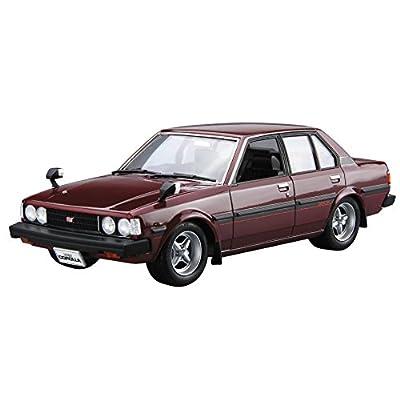 青島文化教材社 1/24 ザ・モデルカーシリーズ No.44 トヨタ E70 カローラセダン GT/DX 1979 プラモデル