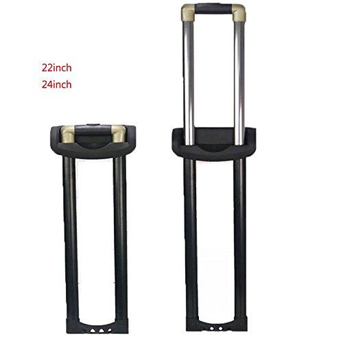 崇明 スーツケース 修理 伸縮ハンドル 旅行ラゲッジのパーツ キャリーバッグ キャリーケース 取り替え伸縮ロッド キャリーバッグの伸縮ロッド DIY修理品 004 (24inch)