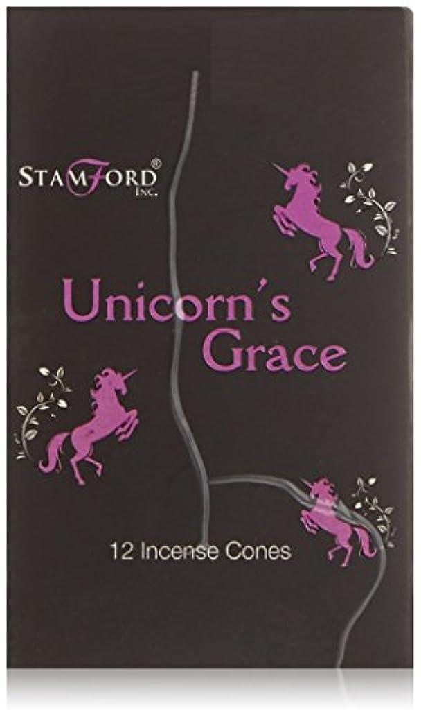 ヘリコプター戸棚ヘルパーStamford Black Incense Cones - Unicorns Grace