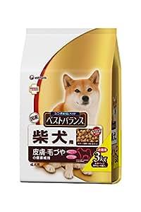 ベストバランス カリカリ仕立て 柴犬用 チキン・野菜・小魚・玄米入り 3kg