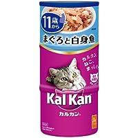 カルカン ハンディ缶 高齢猫用 11歳から まぐろと白身魚 160g×3缶×18個 [キャットフード]