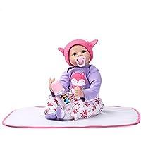 Decdeal 赤ちゃんの人形 女の子 PP漫画 かわいい 贈り物 おもちゃ