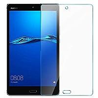 ELTD Huawei Mediapad M3 Lite 8保護フィルム、Huawei Mediapad M3 Lite 8用の硬さ9Hおよび2.5D丸みを帯びた強化ガラス保護フィルム、(1ピース)