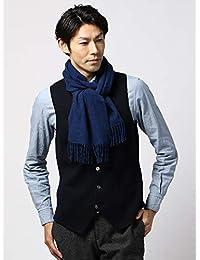 (ザ・スーツカンパニー) blazer's bank.com/ウールマフラー/Fabric by ABRAHAM MOON/ブルー
