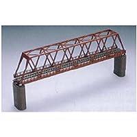 TOMIX Nゲージ 単線トラス形 鉄橋 F 赤 れんが橋脚 2本付 3031 鉄道模型用品
