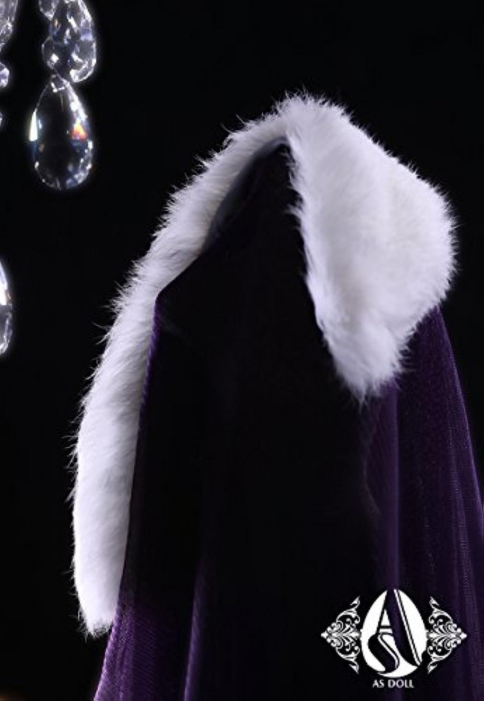 ASDOLL bjdドール服 AS62cm氷語用毛皮ストール 女bjd人形衣装 球体関節人形衣装