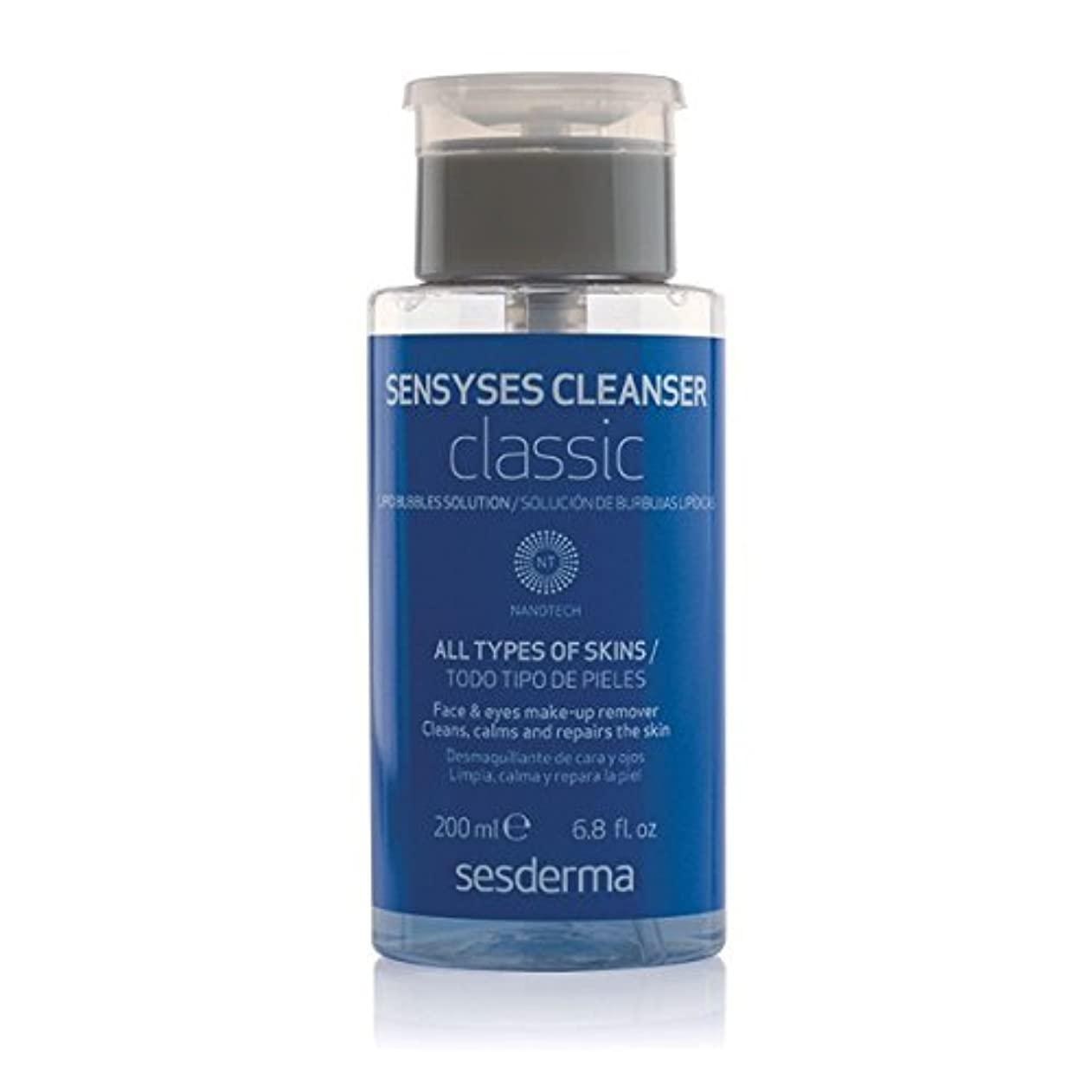 哀れな理容室樹木Sesderma Sensyses Cleanser Classic Lipid Bubbles Solution 200ml [並行輸入品]