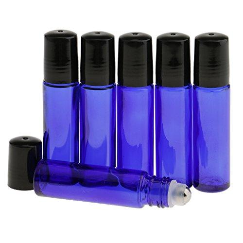 SONONIA 香水 6本 10ml 空 ガラスロール ボトル 小分けボトル  ...